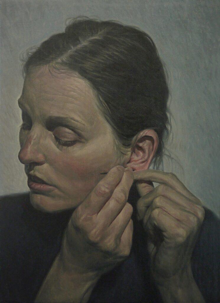 Målning av Niklas Asker